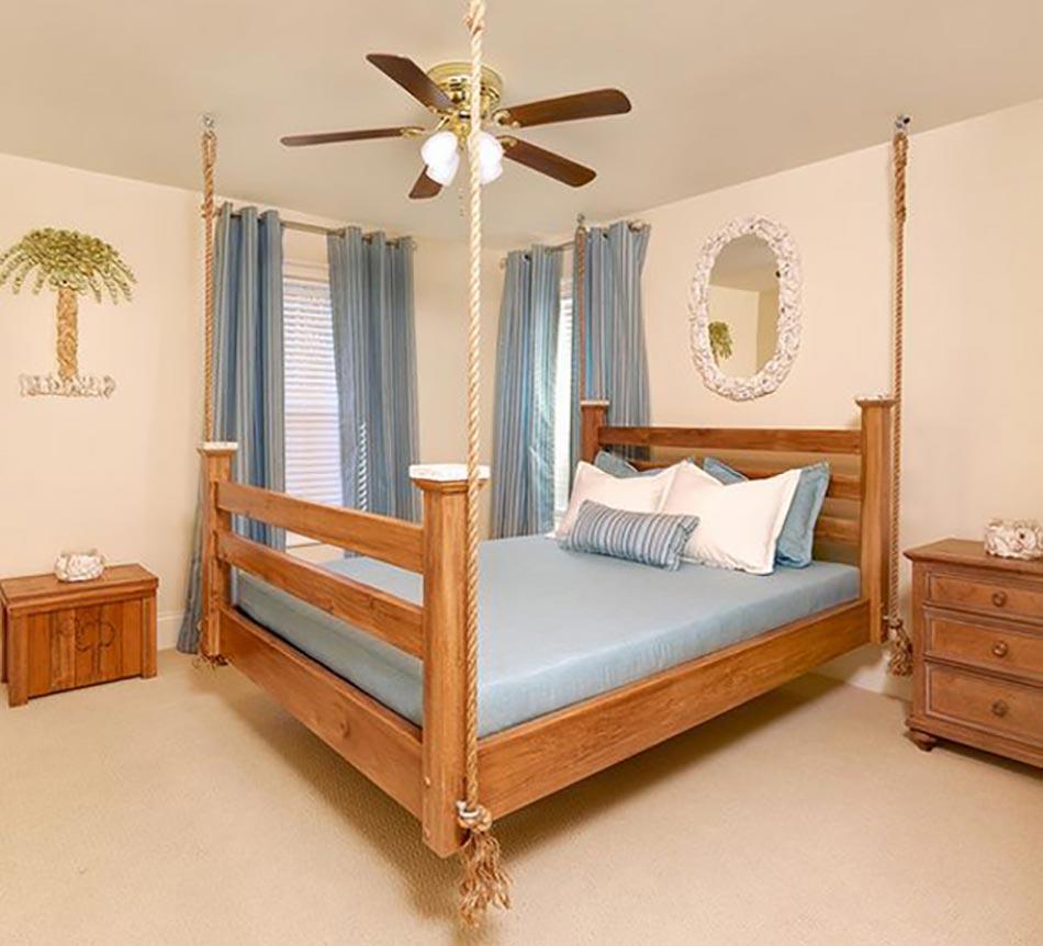 Lit En Bois Classique : Lit suspendu ou l originalité design dans notre chambre