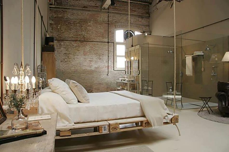 lit suspendu ou l originalit design dans notre chambre design feria. Black Bedroom Furniture Sets. Home Design Ideas