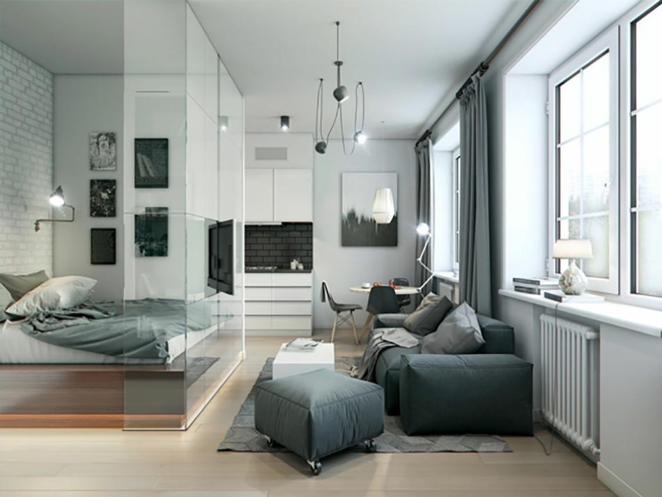 50 nuances de gris pour une maison design design feria for Interieur appartement design