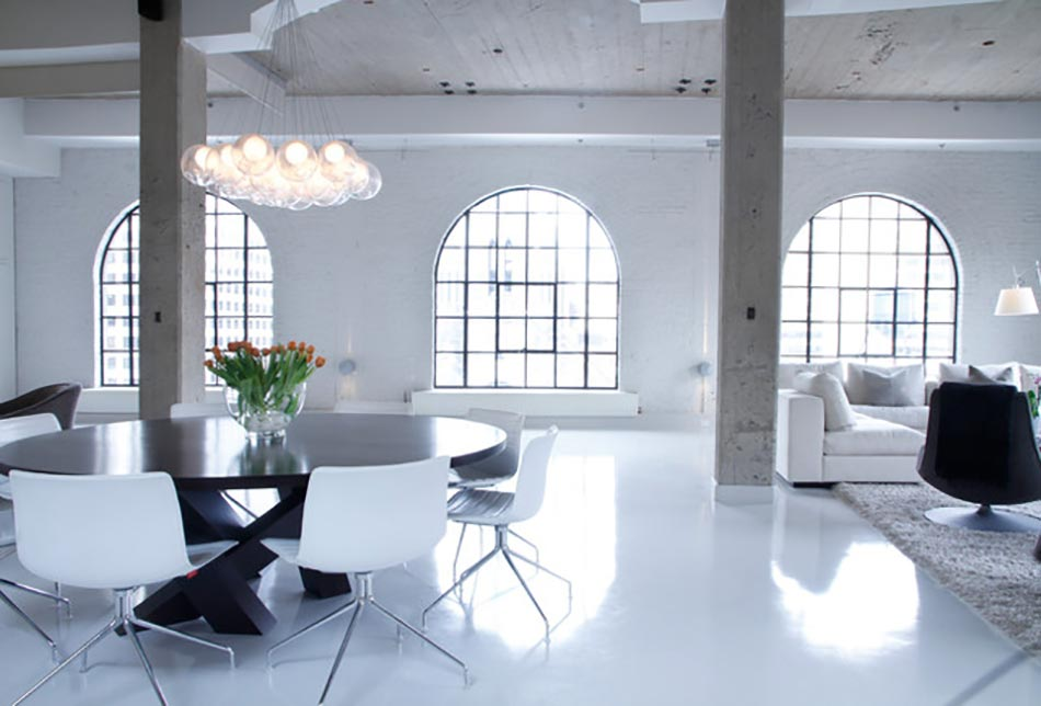 Loft industriel aux allures classes