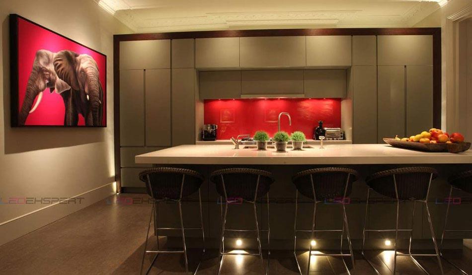 L clairage led une pr cieuse astuce luminaire pour for Cuisine design nice
