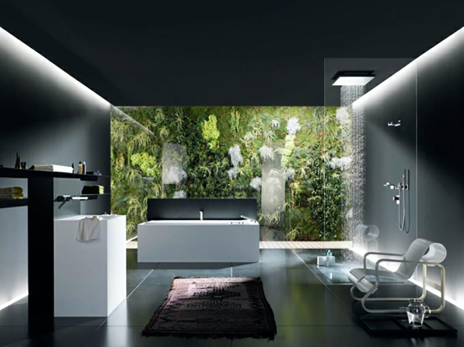 stunning salle de bain moderne de luxe photos. Black Bedroom Furniture Sets. Home Design Ideas