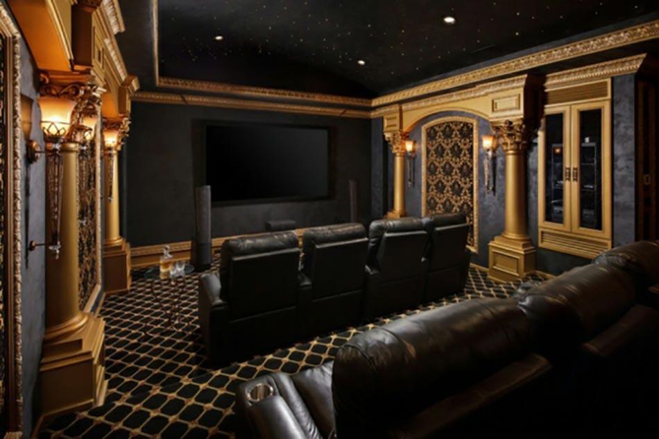 concevoir une salle de cin ma priv e design feria. Black Bedroom Furniture Sets. Home Design Ideas