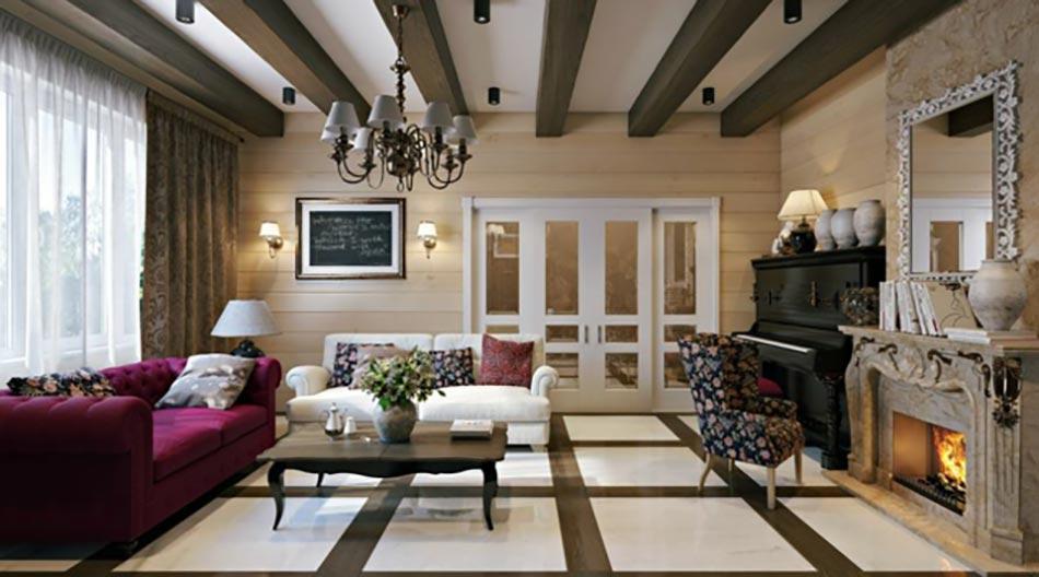La d coration maison en couleurs et l espace apprivoiser for Modele deco interieur maison