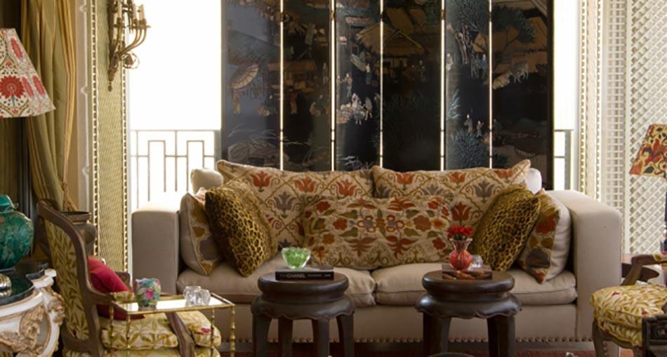 ... déco pour un séjour personnalisé et éclectique  Design Feria