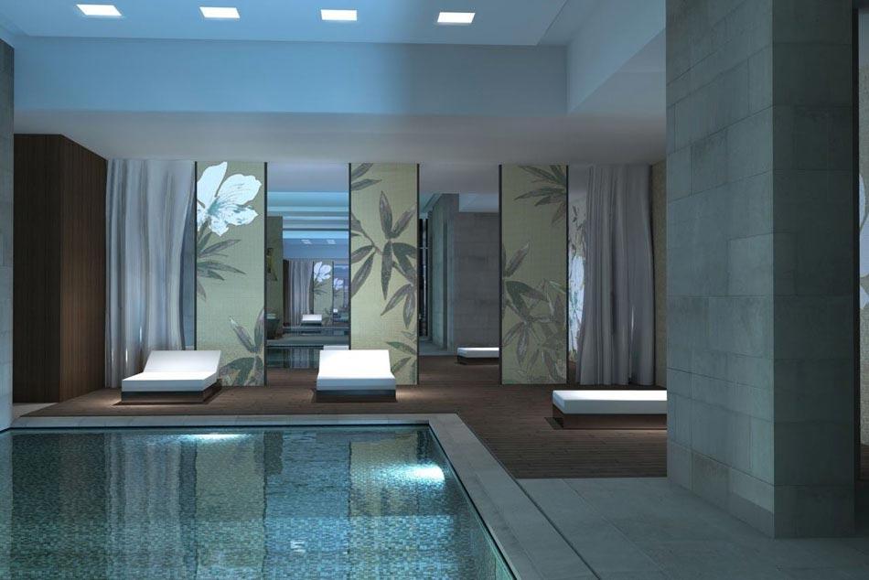 La piscine int rieure un r ve pour profiter de l eau - Residence avec piscine interieure ...