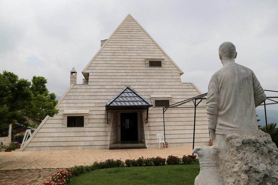 Maison originale des architectures cr atives et uniques for Architecture egyptienne