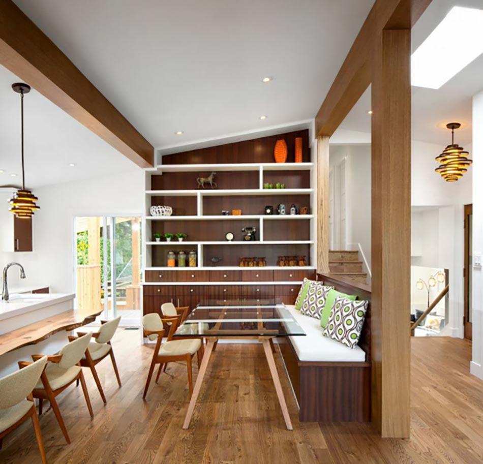 Rnovation Maison Dans Un Style Rtro Des Annes 70