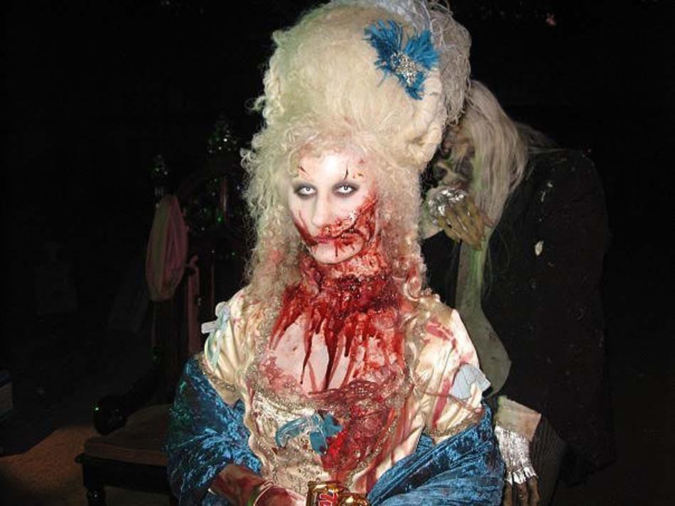 15 id es de maquillage halloween myst re horreur ou gore design feria - Maquillage qui fait peur ...