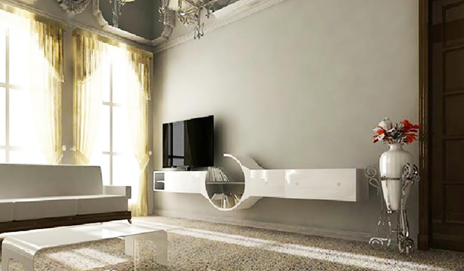 stunning meuble bas au design trs italien et with meuble italien de luxe. Black Bedroom Furniture Sets. Home Design Ideas