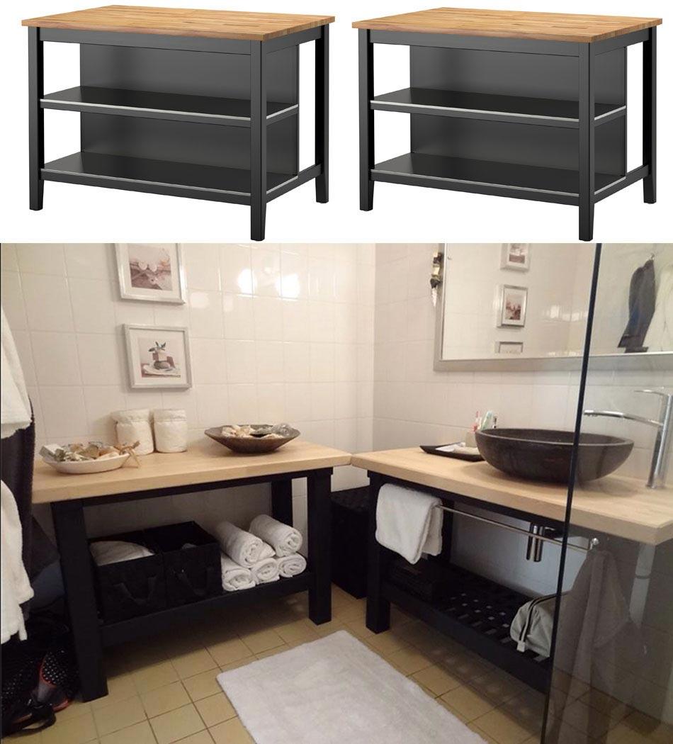 Idées Pour Customiser Un Meuble Ikea Avec Un Résultat Original - Porte meuble cuisine ikea pour idees de deco de cuisine