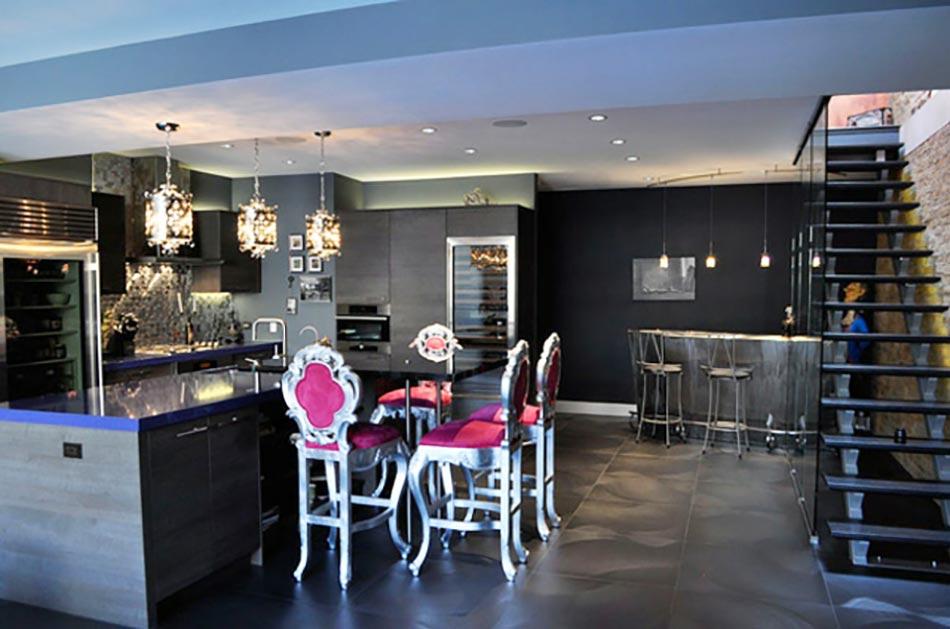 Cuisine moderne l ameublement baroque remis au go t du for Cuisine deco design