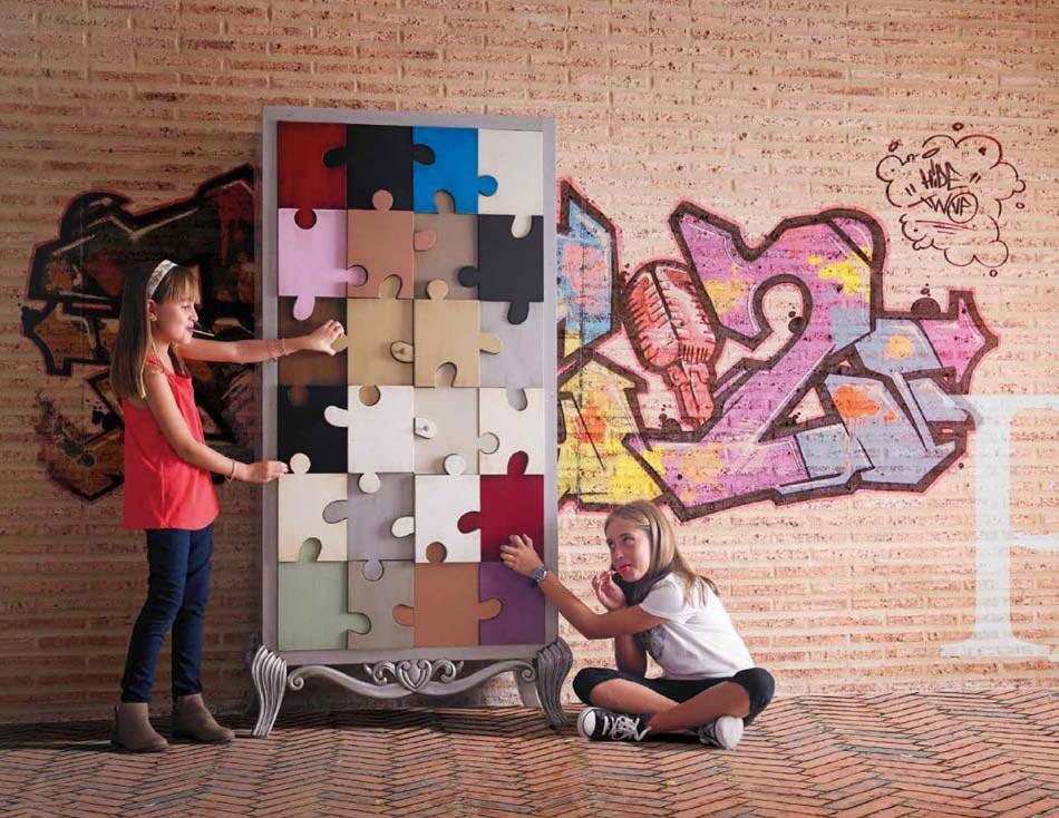 Meubles design sign lola glamour pour une ambiance for Chambre d enfant original