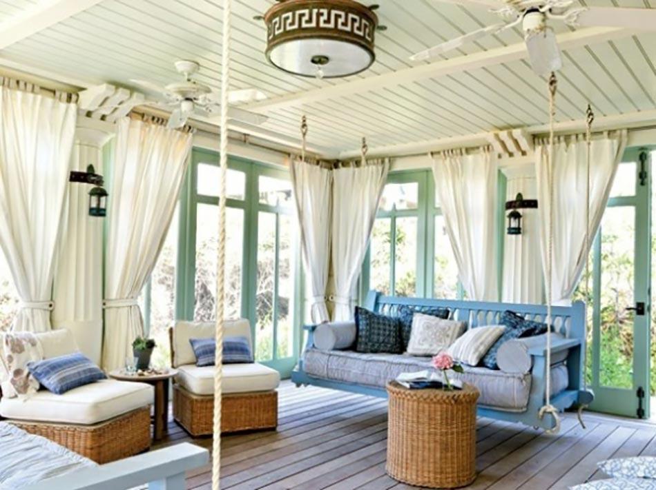 Salon de jardin pour embellir une v randa vitr e design feria - Mobilier pour veranda ...