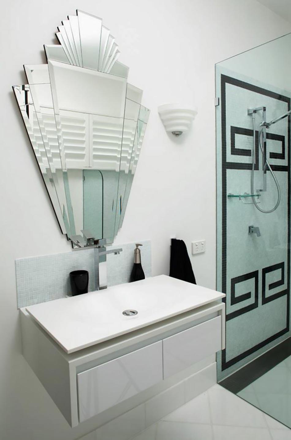 Int rieur moderne et original l aide de miroir d coratif for Beau miroir design