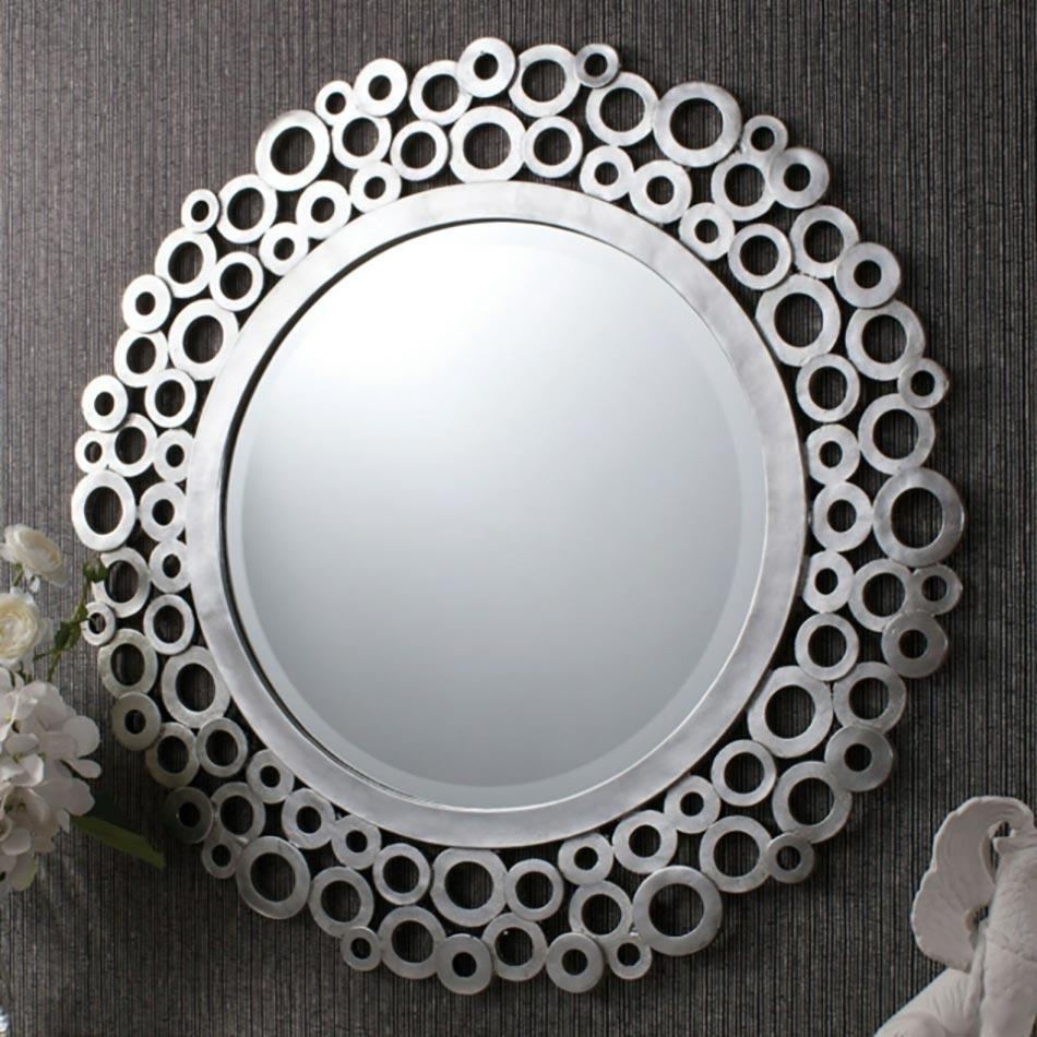 Miroir de salle de bain l encadrement design design feria - Miroir salle de bain rond ...