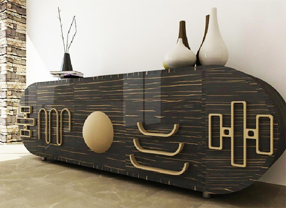 Meuble au design italien pour un s jour chic design feria for Meuble bar moderne design