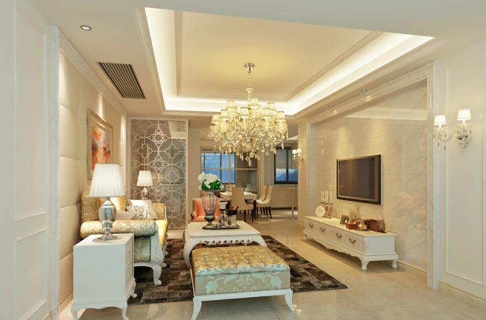 beige séjour meubles classiques intemporel