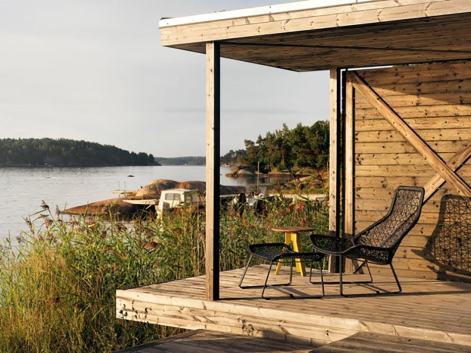 mobilier de jardin design original par patricia urquiola design feria. Black Bedroom Furniture Sets. Home Design Ideas
