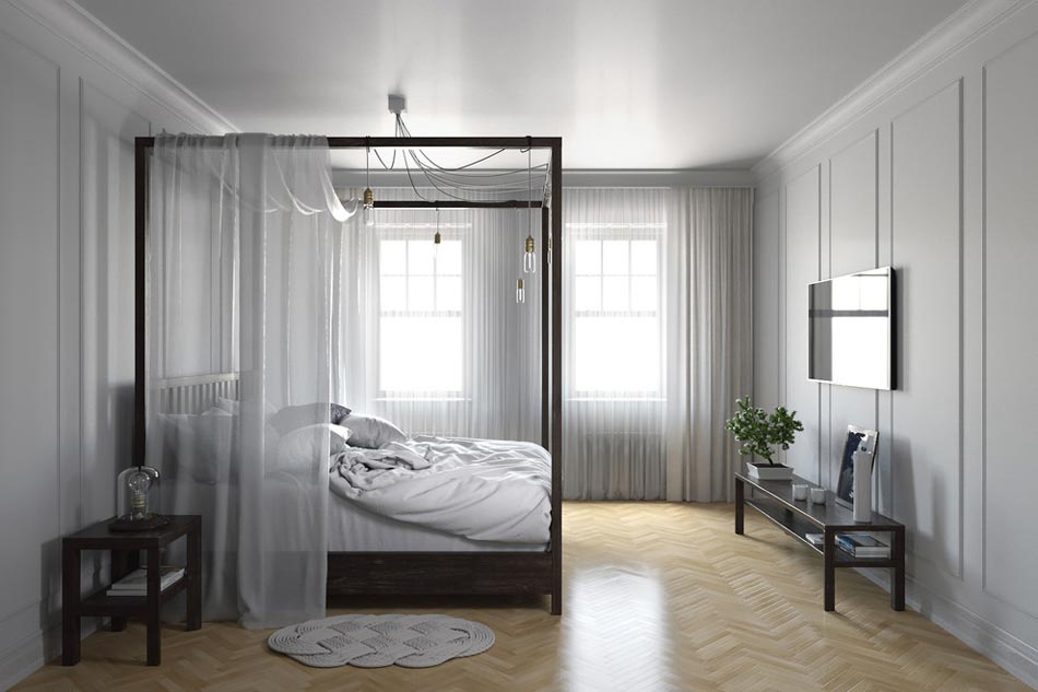 l agr able suite parentale au design moderne et personnel design feria. Black Bedroom Furniture Sets. Home Design Ideas