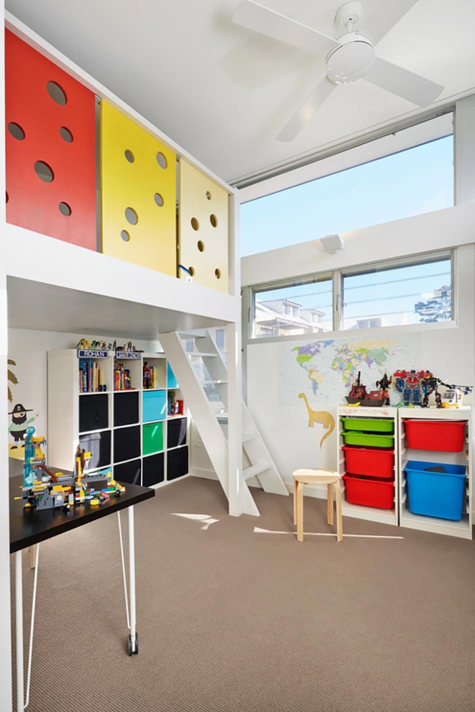 Lit mezzanine pour une chambre d ado originale design feria - Modele de chambre ado garcon ...