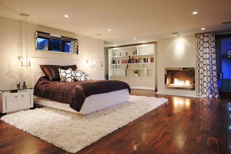 15 exemples d une belle chambre avec chemin e aux for Belle chambre coucher