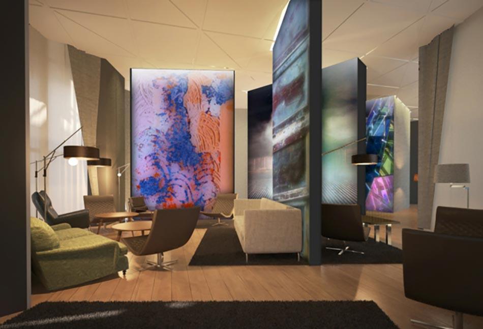 Design int rieur inspir par des murs aux dessins cr atifs for Interieur artistique