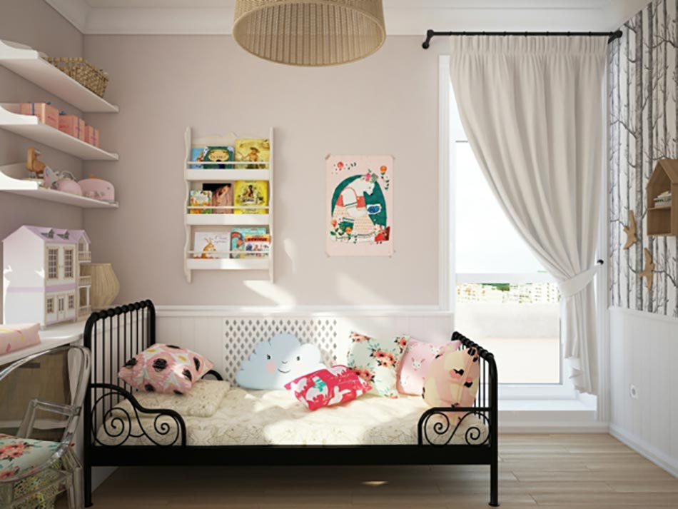 Chambre Rose Pale : Réussir à créer une déco chambre d'enfant originale