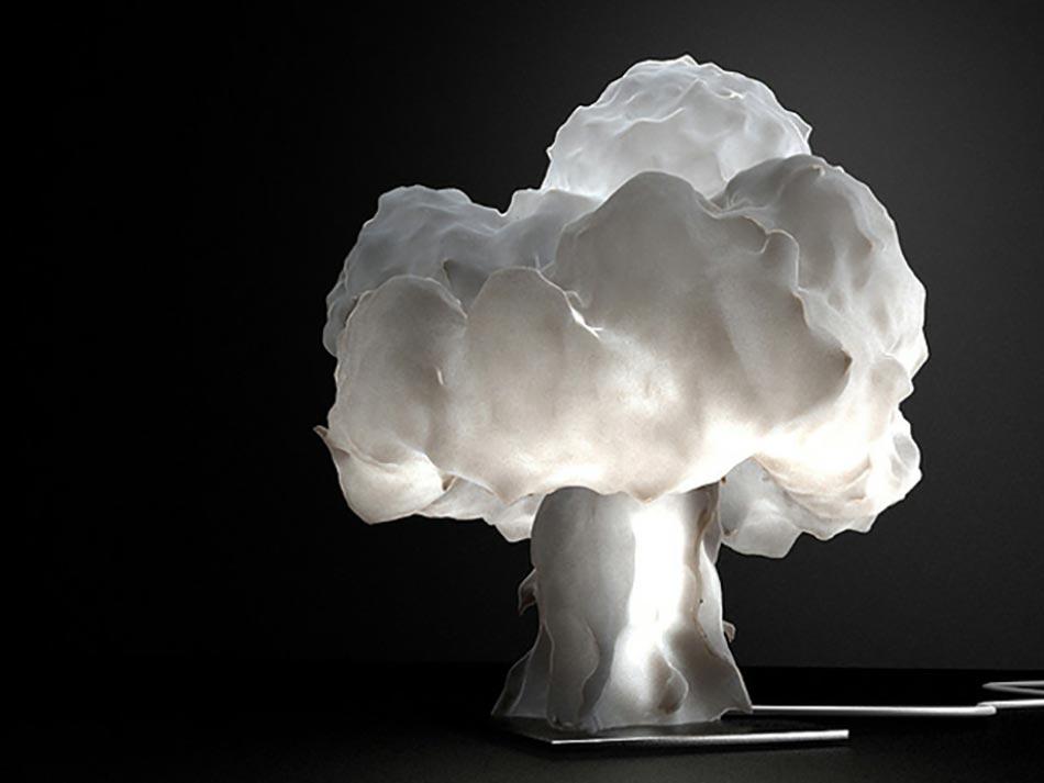 Charmant Luminaire Design Créatif Et Intéressant En Forme De Nuage. Lampe Design  Original Nuange