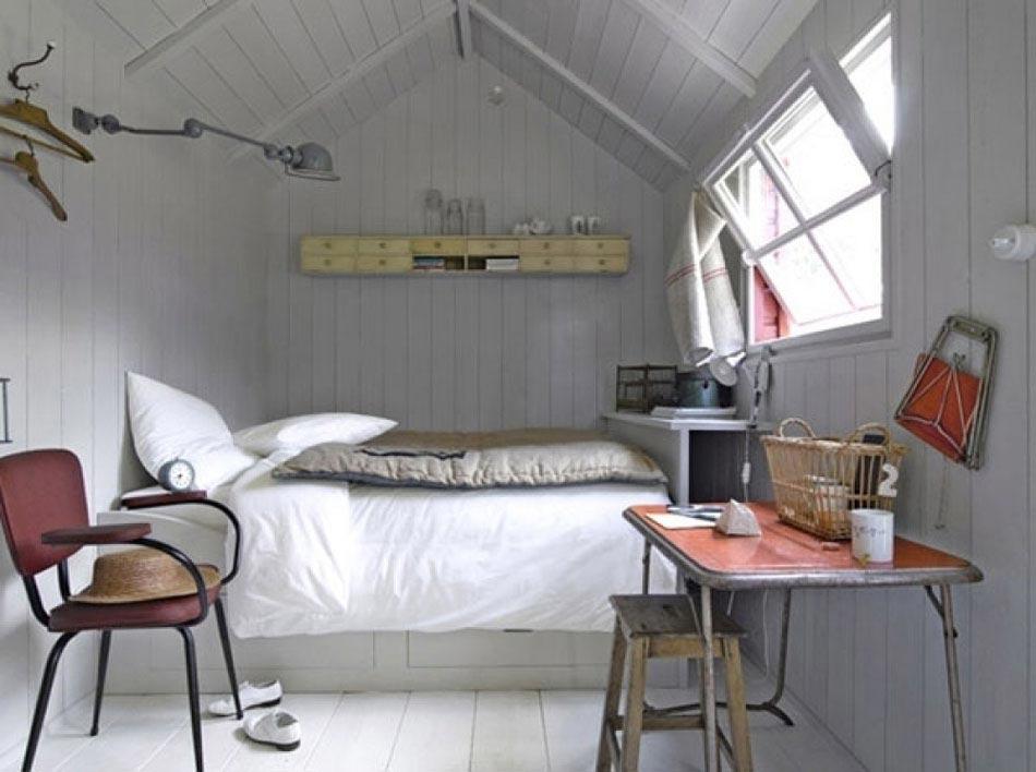 Id es pour l am nagement petite chambre la fois conviviale et moderne des - Optimiser espace petite chambre ...