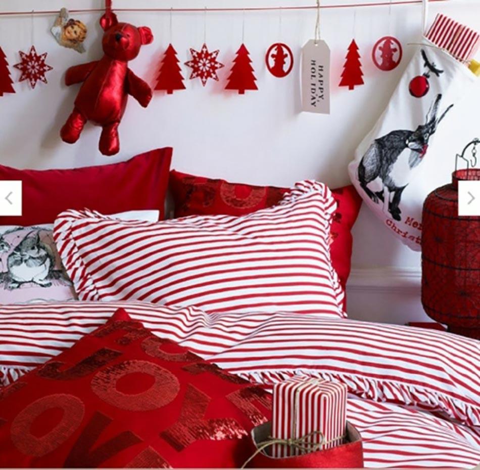 Déco chambre inspirée par Noël  Design Feria