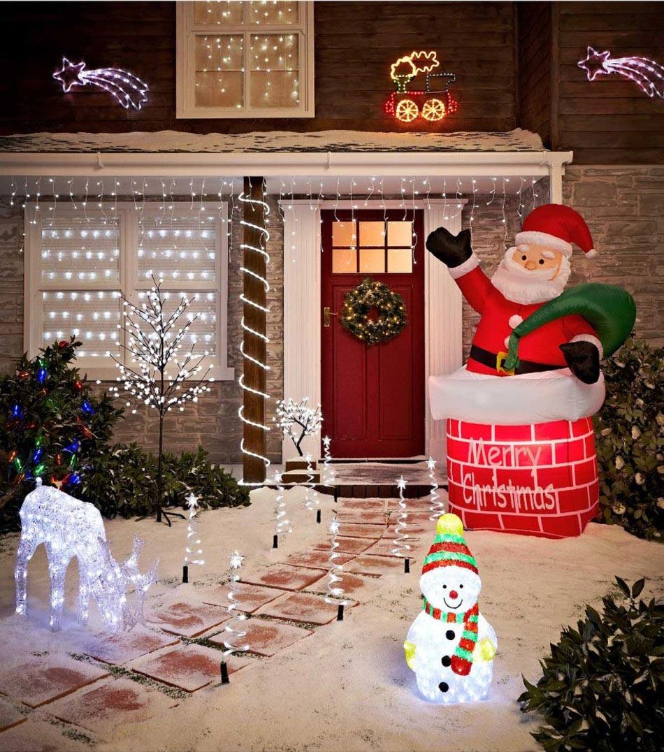 Une Vraie Joie Pour Les Enfants La Déco LED Pour Noël Représente Aussi Un  Conte Magique
