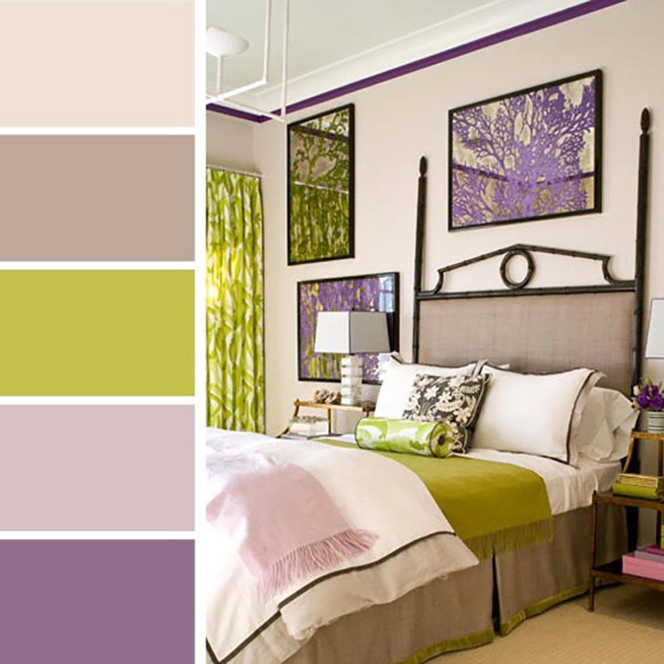 Palettes de couleurs afin de choisir les bonnes nuances - Couleur romantique pour chambre ...