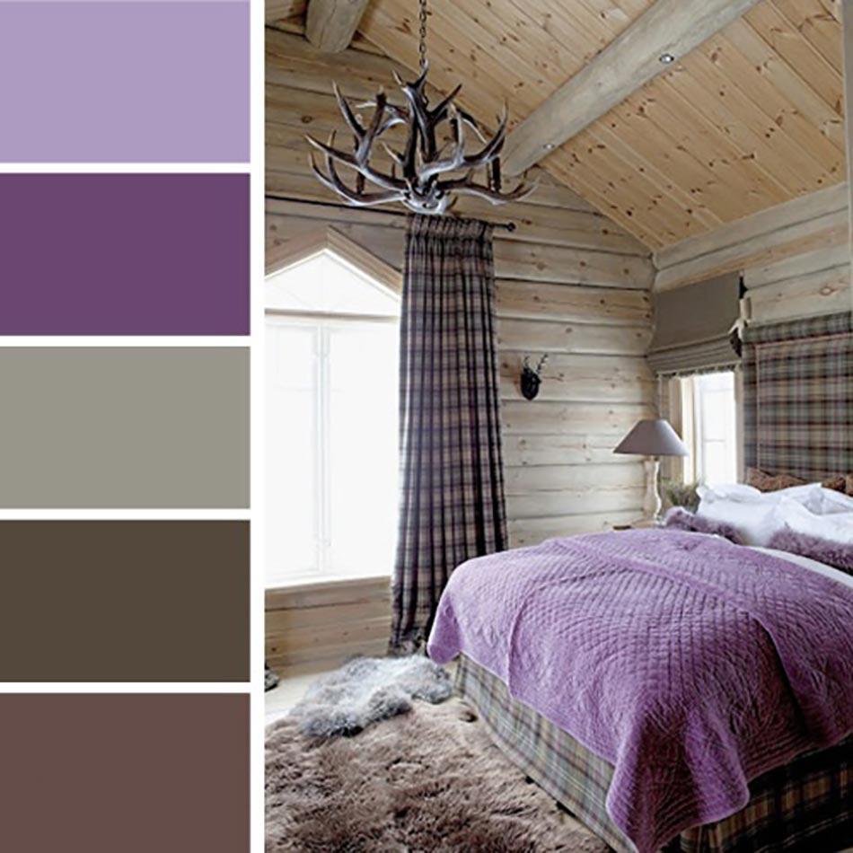 Palettes de couleurs afin de choisir les bonnes nuances for Design chambre a coucher moderne