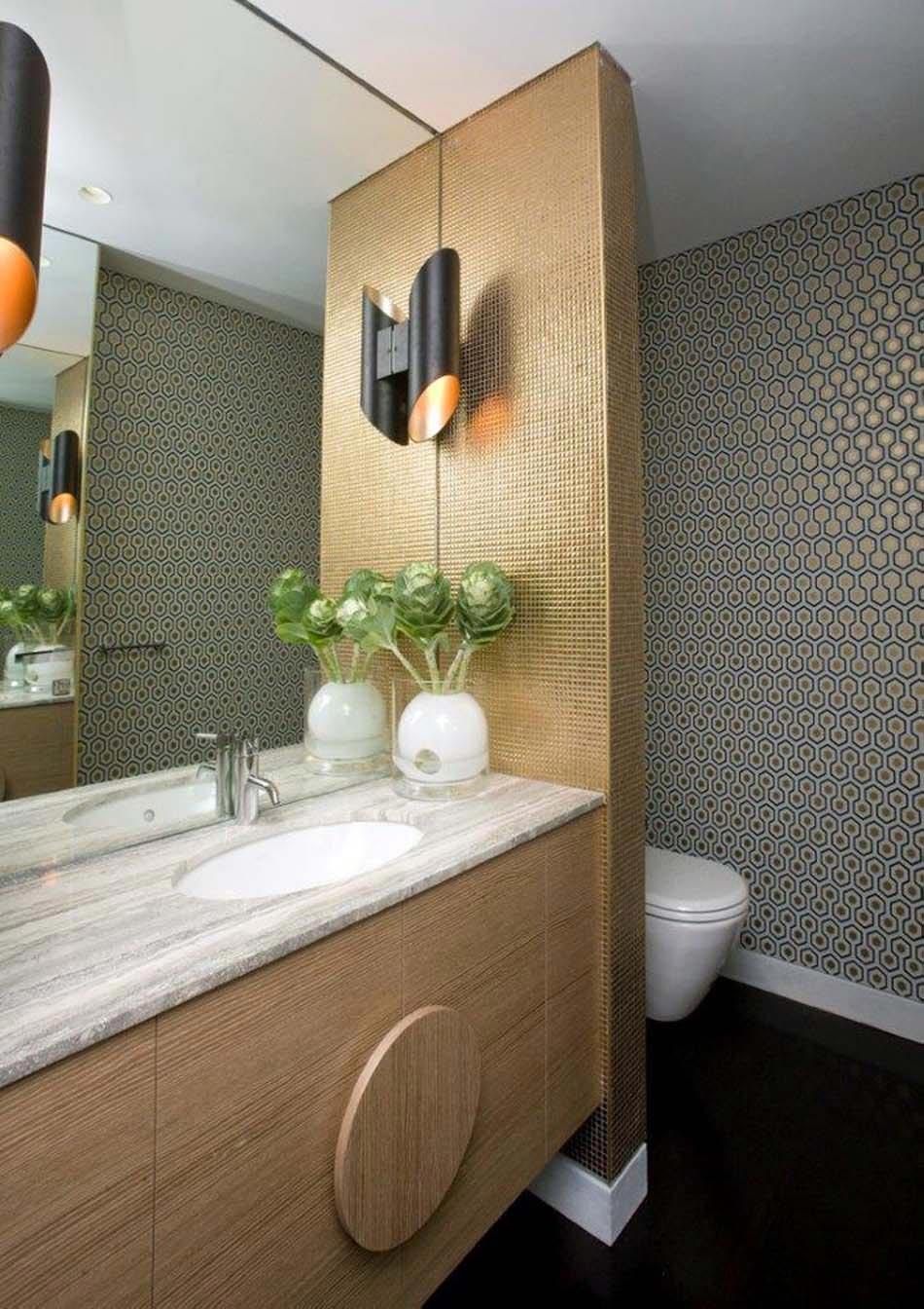 id es de d coration inspirantes pour rendre nos toilettes surprenantes design feria. Black Bedroom Furniture Sets. Home Design Ideas