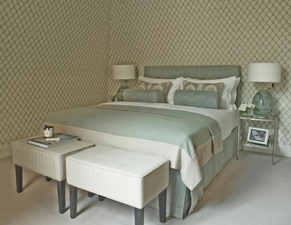 D coration sur les murs pour une chambre tr s design for Deco avec papier peint