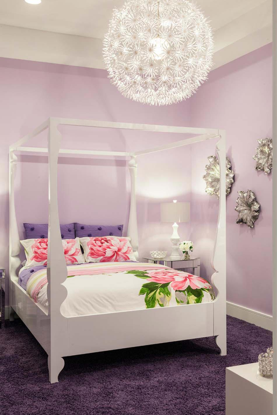parure de lit cr ant une ambiance color e et printani re dans la chambre coucher design feria. Black Bedroom Furniture Sets. Home Design Ideas