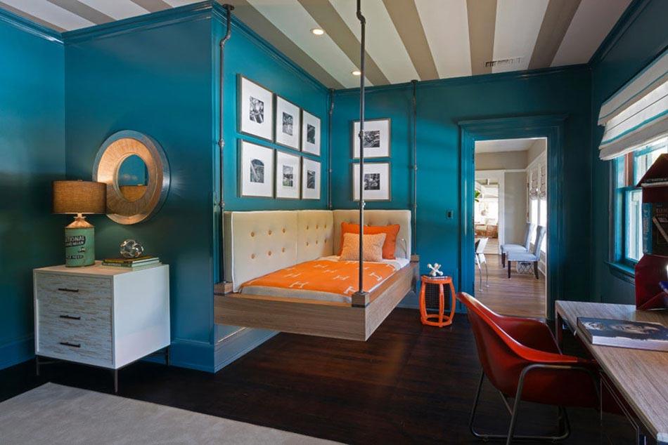 la literie originale o lorsque le lit suspendu ne finit pas de nous enchanter design feria. Black Bedroom Furniture Sets. Home Design Ideas