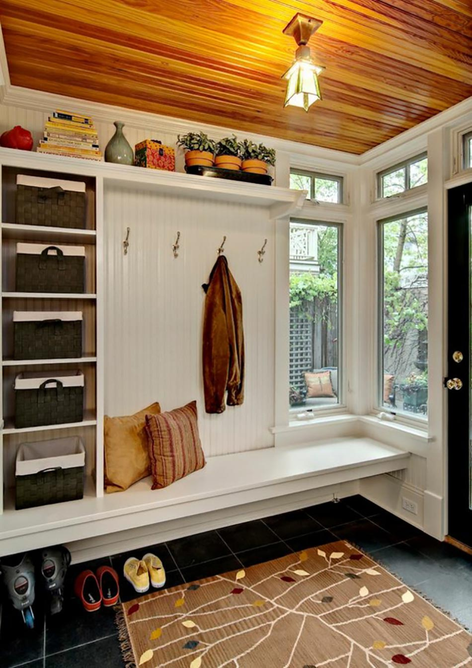 Petit Banc D Entrée Avec Rangement 15 façons d'aménager son entrée de maison | design feria