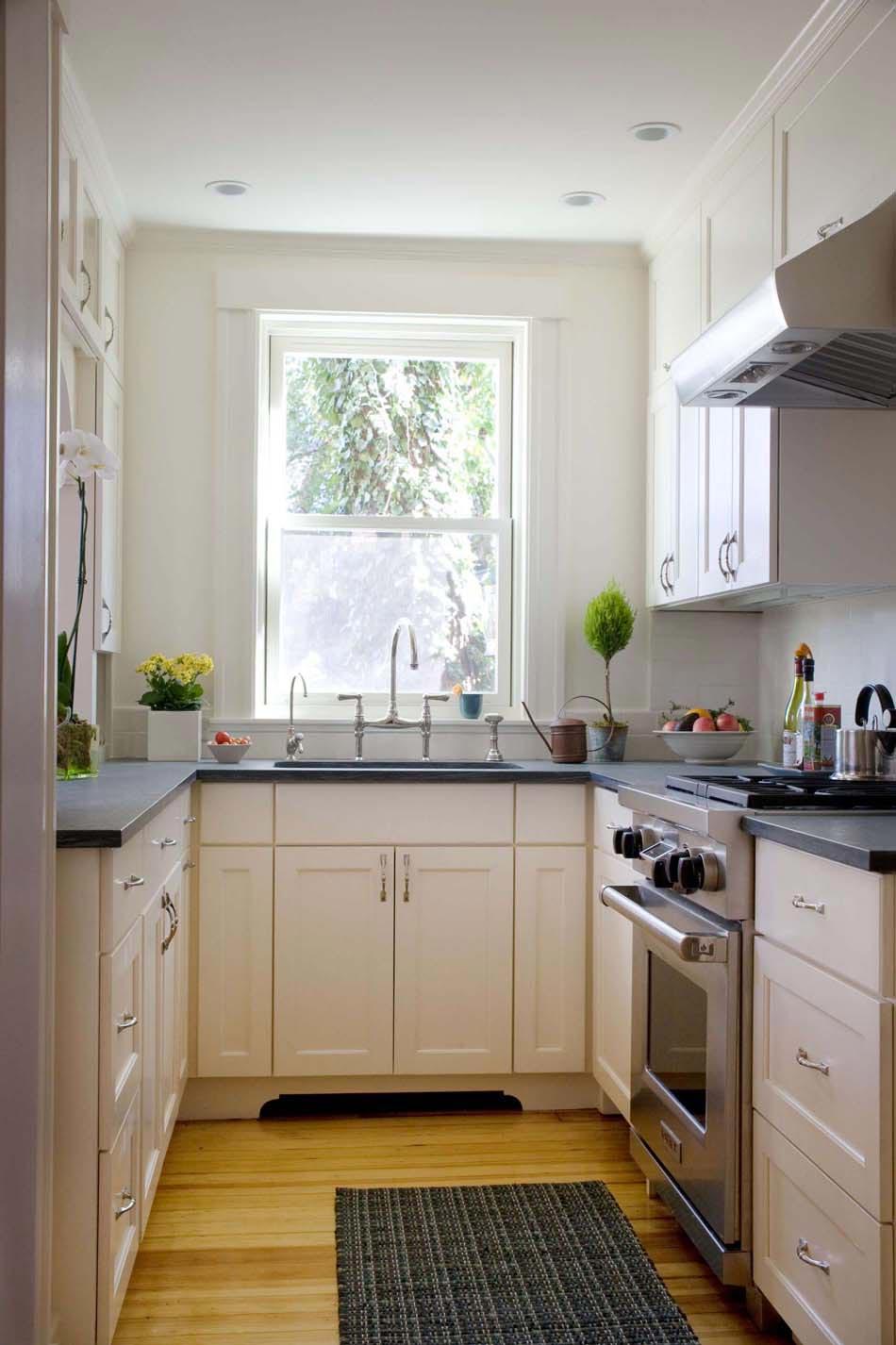 15 exemples de petite cuisine pratique et parfaitement. Black Bedroom Furniture Sets. Home Design Ideas