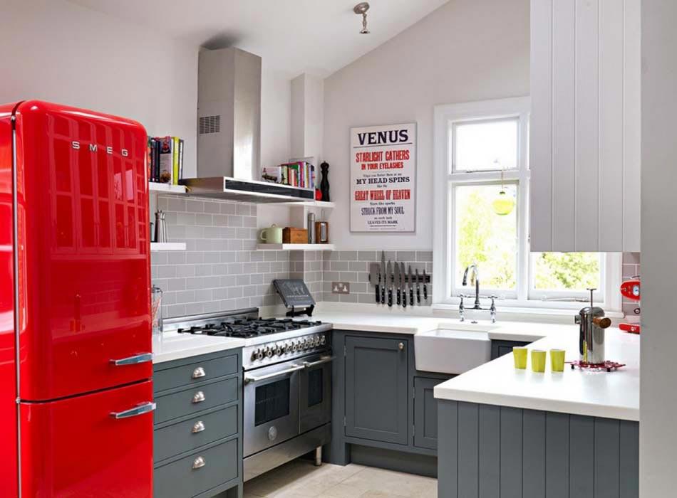Fabuleux 15 exemples de petite cuisine pratique et parfaitement agencée  UK41