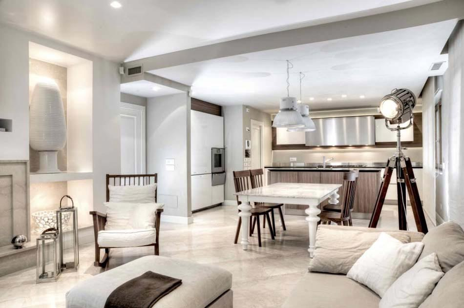 Magnifique design int rieur l italienne pour cette belle for Decor interieur des maisons