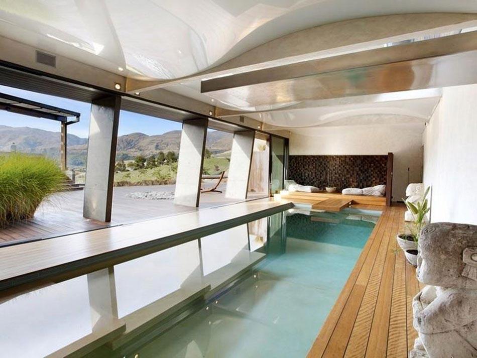 La piscine int rieure un r ve pour profiter de l eau for Construction piscine couverte