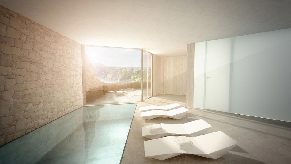 Magnifique maison d architecte sur la c te espagnole - Maison moderne toronto par studio junction ...