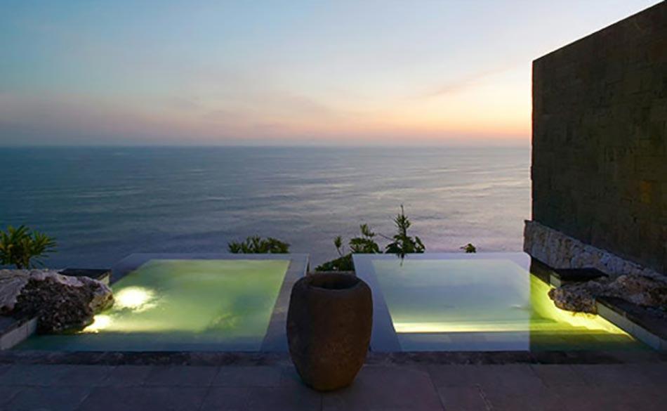 Piscine Divisée En Deux Exotique Bali