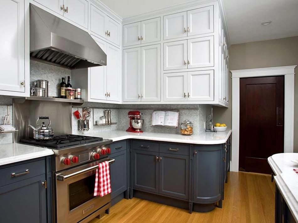 Couleurs agréable pour une cuisine déco moderne et accueillante ...
