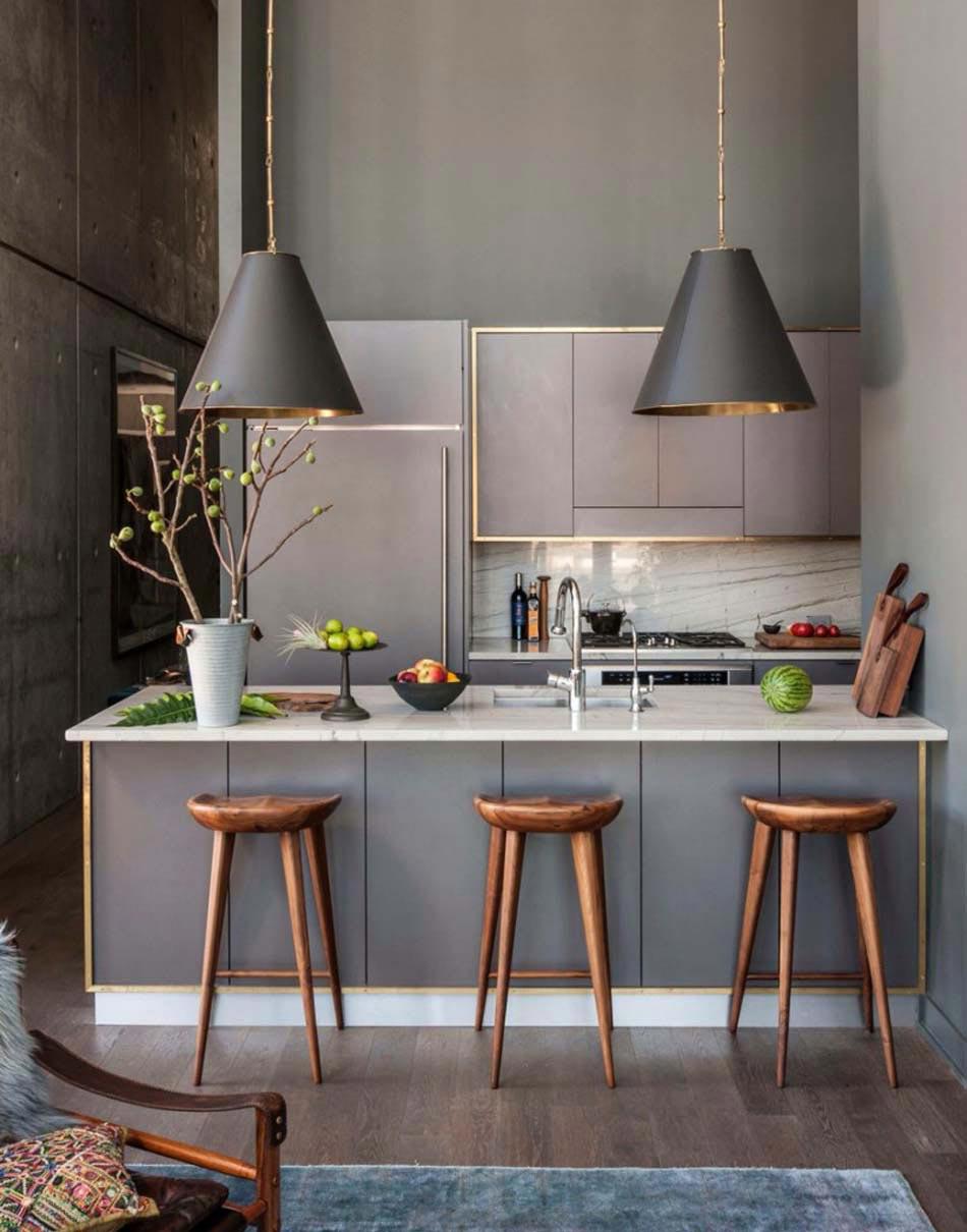 15 exemples de petite cuisine pratique et parfaitement for Exemples cuisines ouvertes