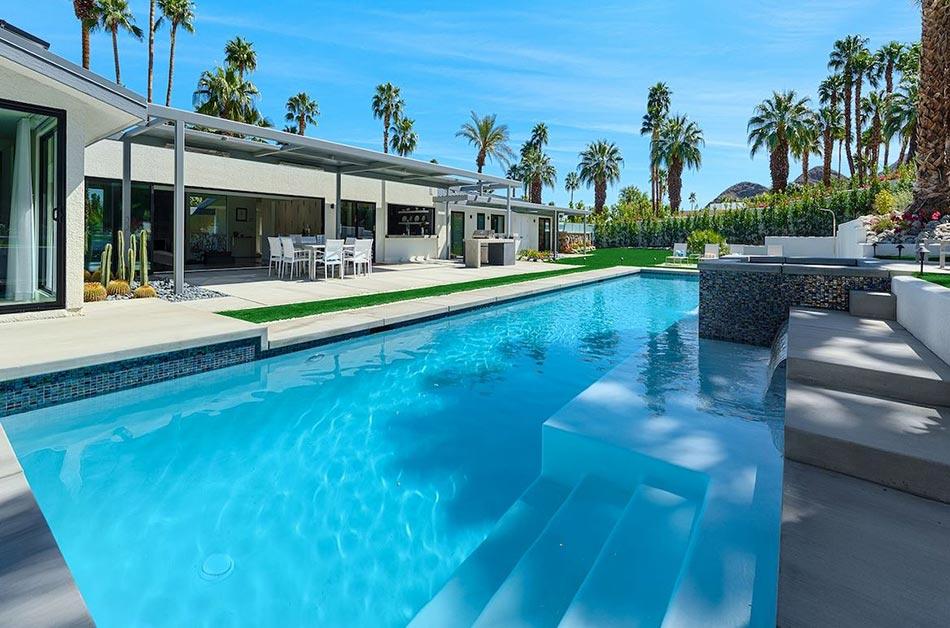piscine de luxe pour une résidence de prestige | design feria
