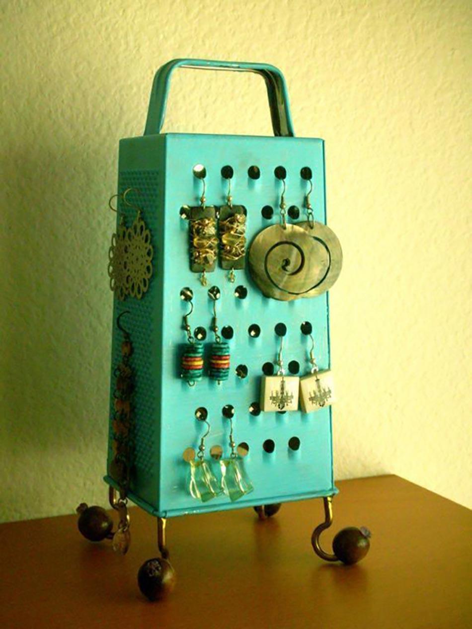 Bien-aimé 11 idées originales de rangement bijoux à faire soi-même | Design  QD77