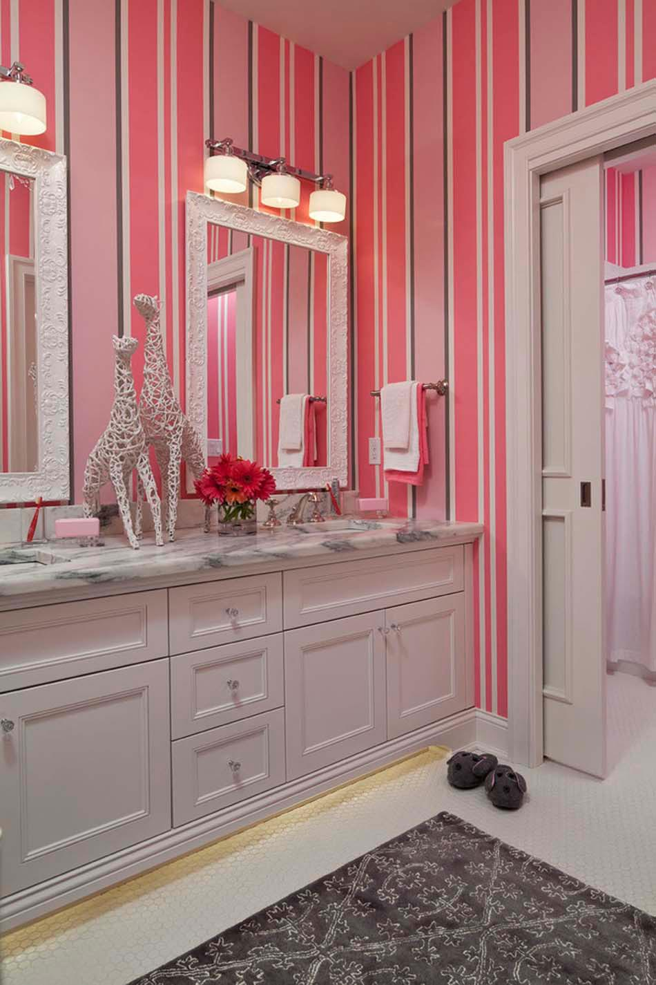 Decoration Salle De Bain Papier Peint ~ papier peint salle de bain offrant la possibilit de personnaliser